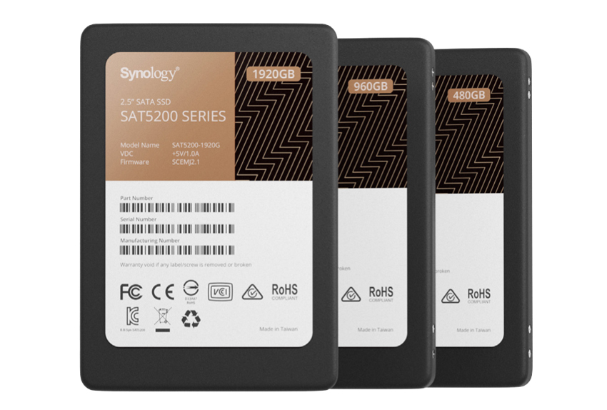 Synology SSD Line