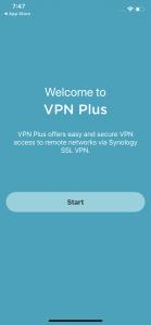Synology VPN Plus Server Mobile 1