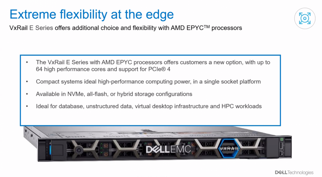 VxRail with AMD CPU