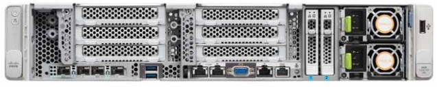 Cisco UCS C240 SD M5 front 2-bays