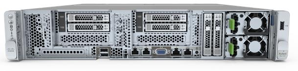 Cisco UCS C240 SD M5 front 6-bays