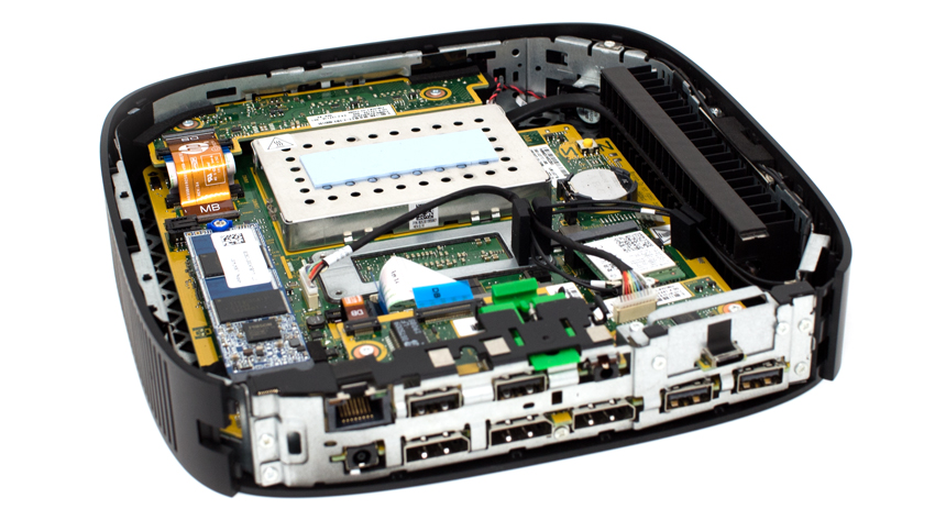 HP t640 Thin Client full open
