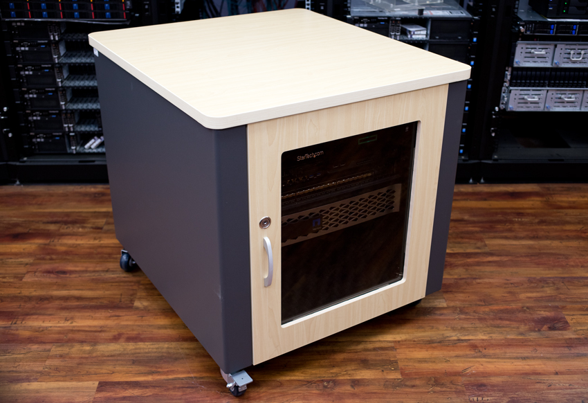 StarTech 12U Quiet Office Server Cabinet
