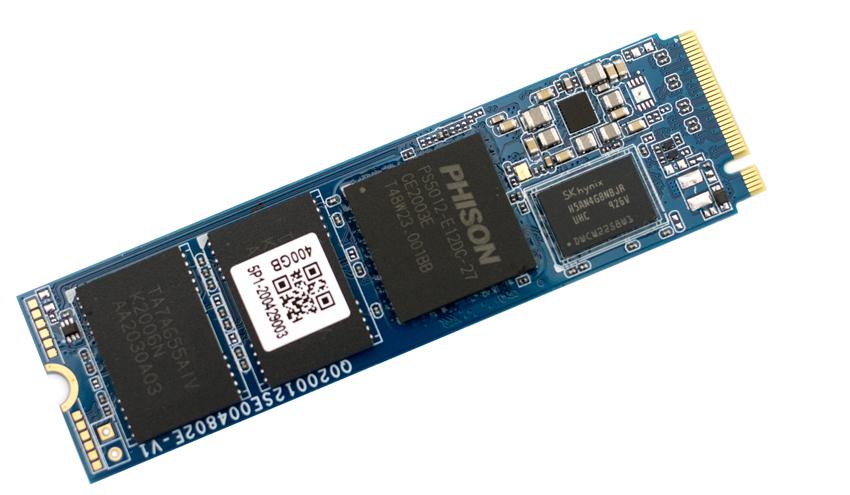 Synology SNV3400-400G SSD bottom