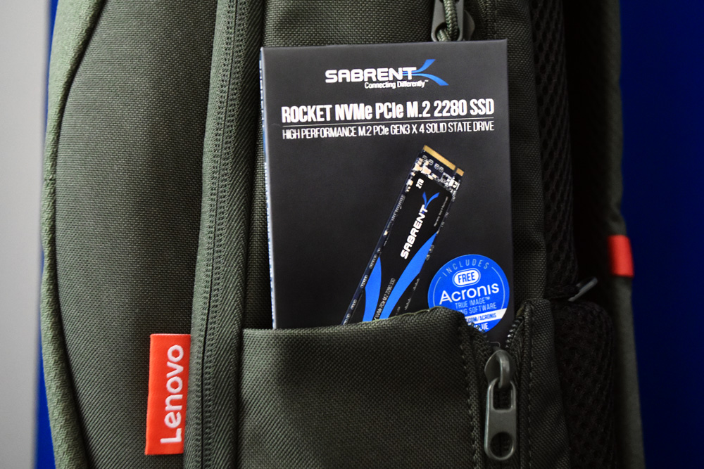 sabrent rocket gen3 in packaging