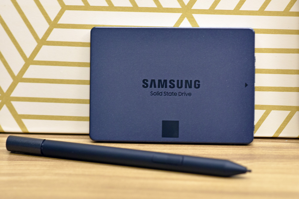 Samsung 870 QVO SSD front
