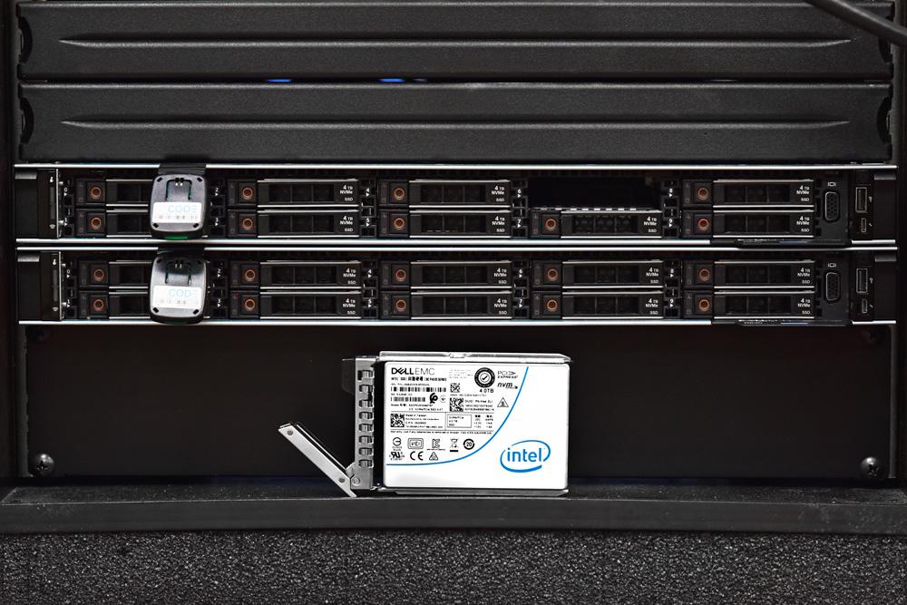 AX nodes Intel SSD