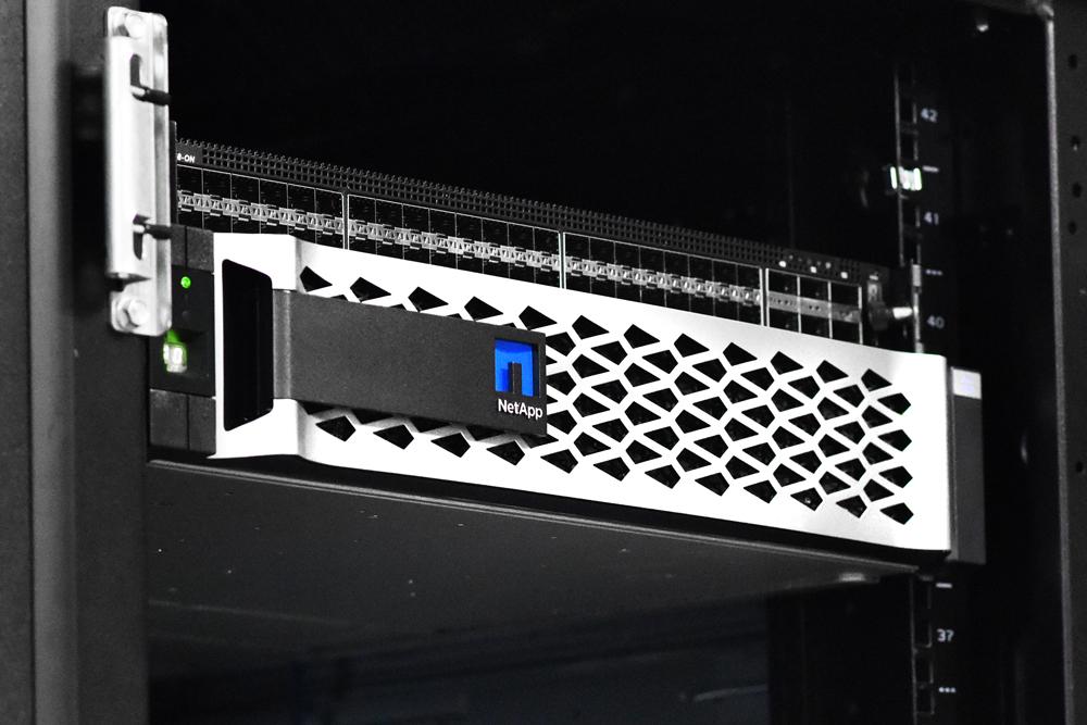 Netapp c190 in rack