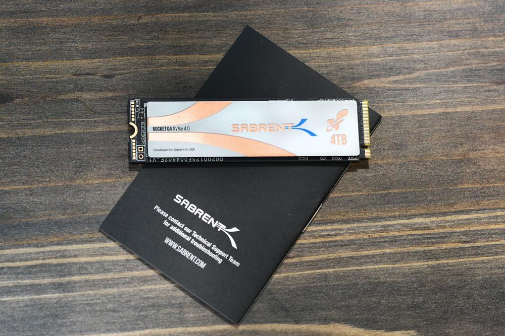 Sabrent Rocket Q4 NVMe 4.0 SSD front