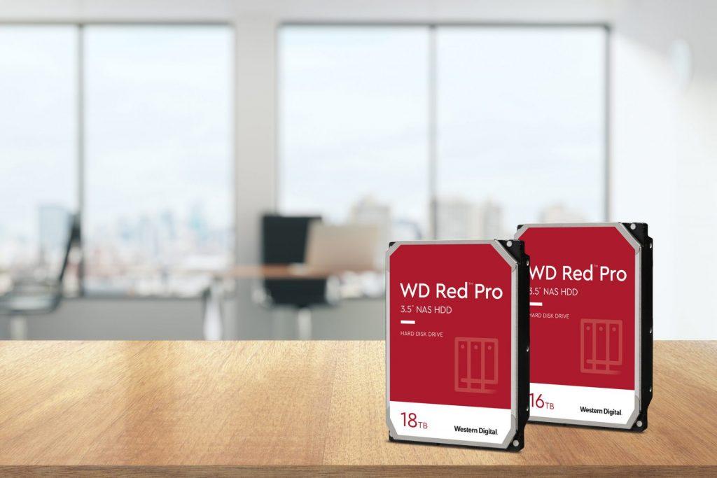 WD Red Pro 16TB 18TB HDD