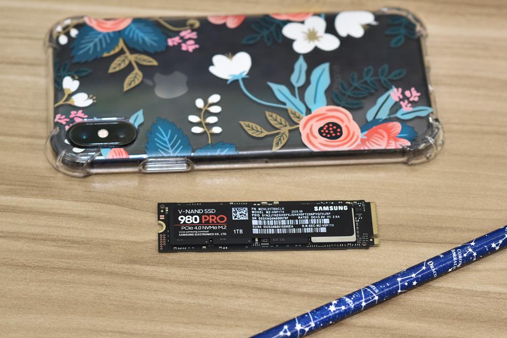 Samsung SSD 980 PRO size