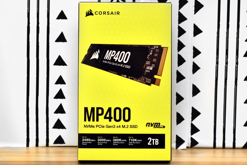 Corsair MP400 SSD Box