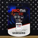 Samsung 128 Pro Plus SSD box