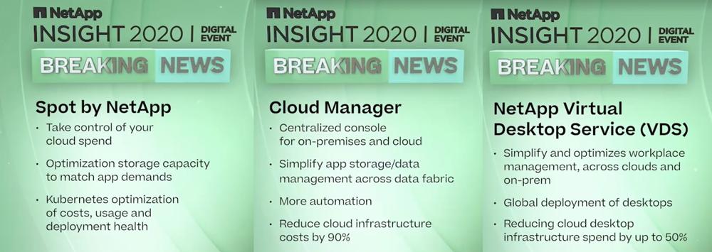 NetApp Cloud