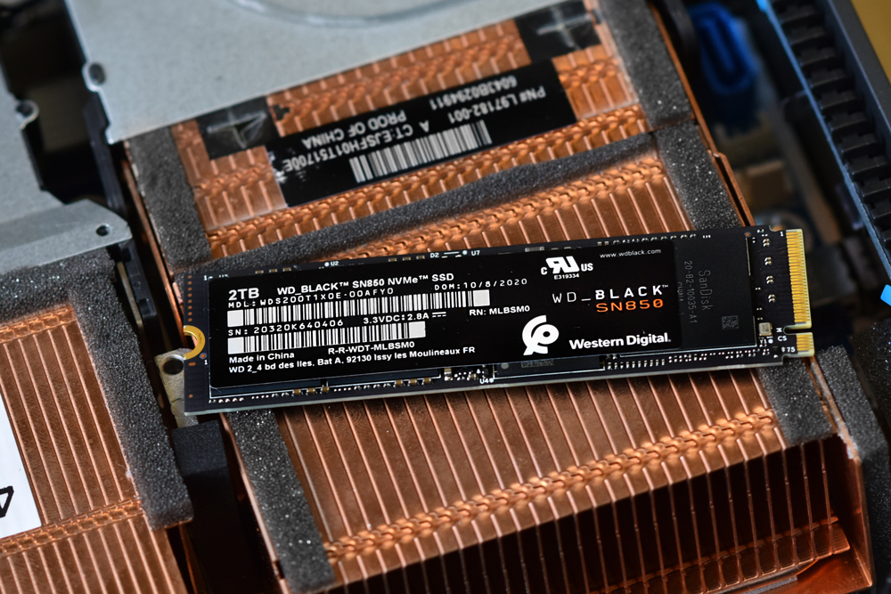WD_Black SN850 SSD front