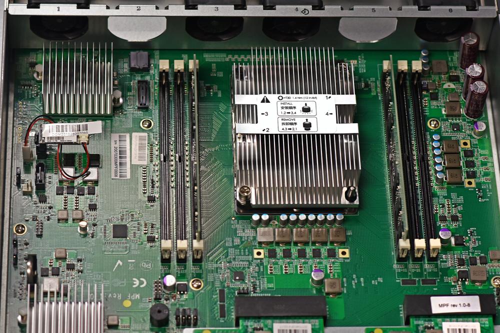 QSAN XCubeFAS 3126D closeup