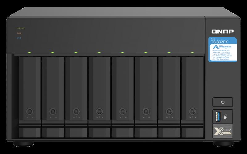 QNAP TS-832PX front