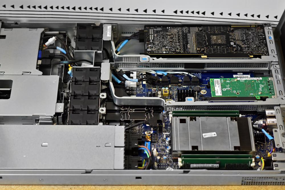 HP ZR4 inside