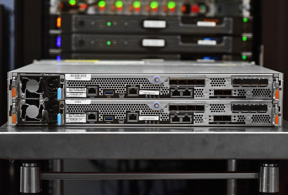 NetApp AFF A250 controllers