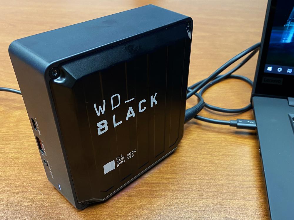 WD_Black D50 Front