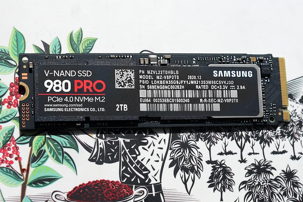 Samsung 980 pro 2tb front