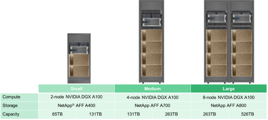 Nvidia NetApp ai size