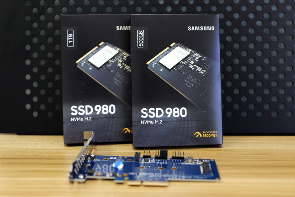 Samsung 980 Boxes