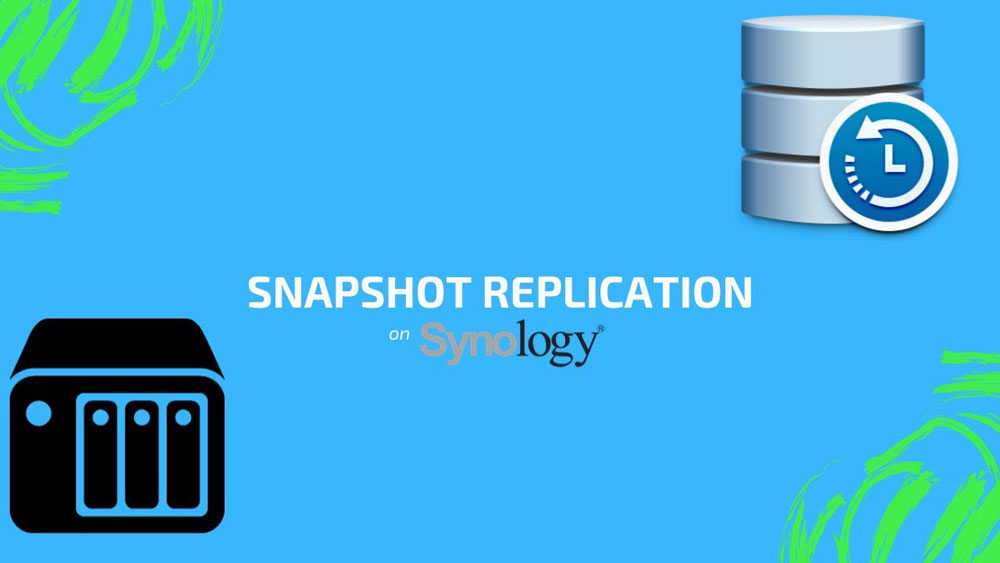 Synology snapshot replication