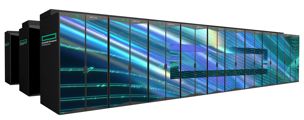HPE AMD EPYC 7003 cray