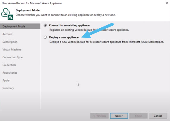 Veeam Backup Microsoft Azure 3