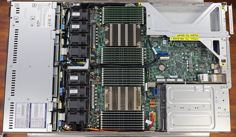 Supermicro 1024US-TRT open chassis