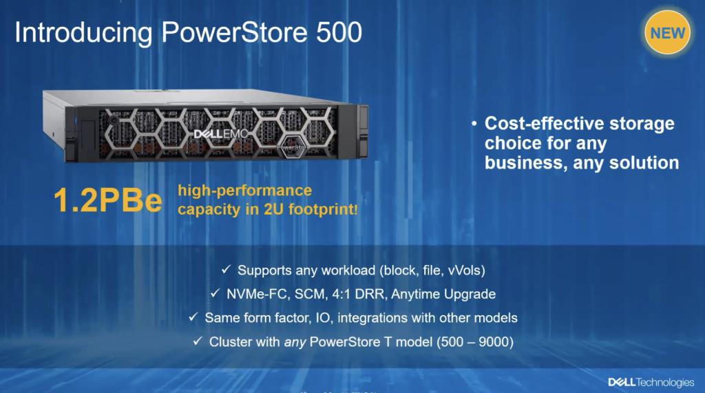 Dell EMC PowerStore 500