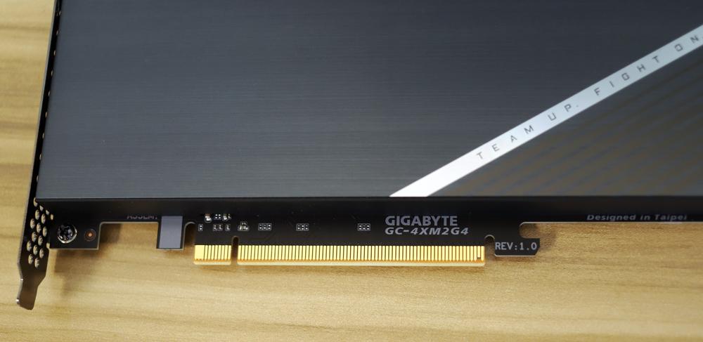 Gigabyte aorus AIC adaptor model