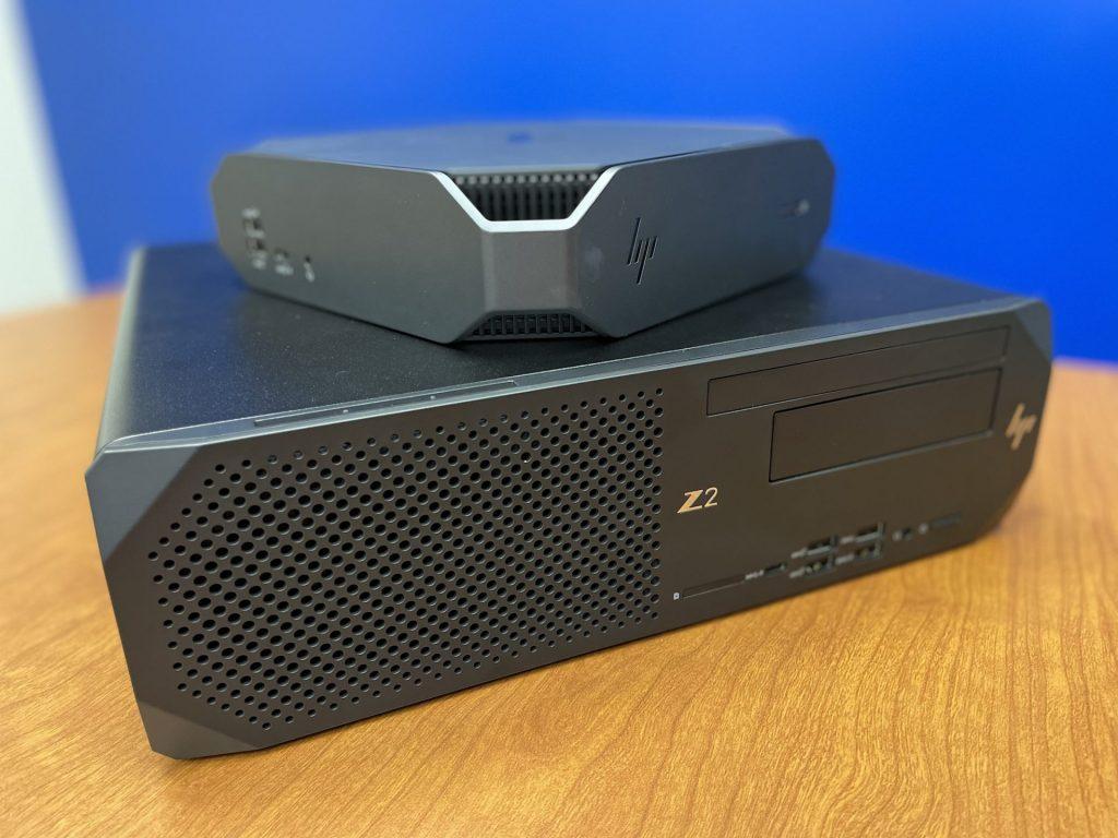 HP Z2 SFF G8 vs HP Mini