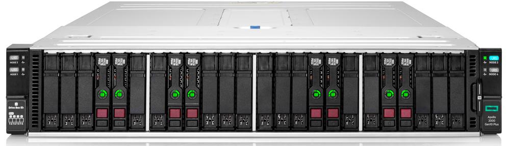 HPE 3rd Gen intel Xeon scalable apollo