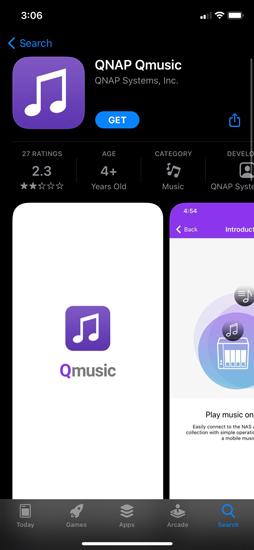 QNAP music station music