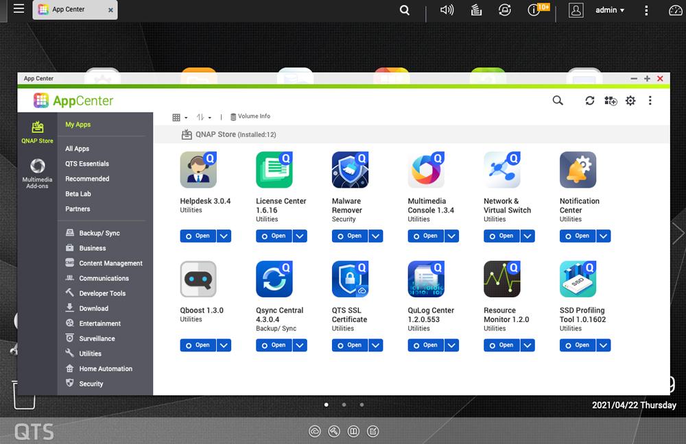 QNAP Qlocker Ransomware app center
