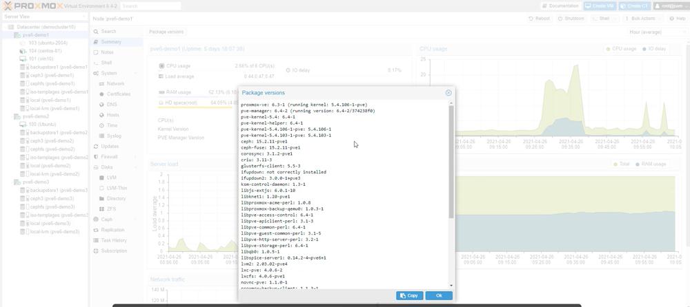 Proxmox VE 6.4