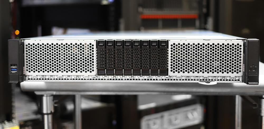 Intel Ice Lake Server Front