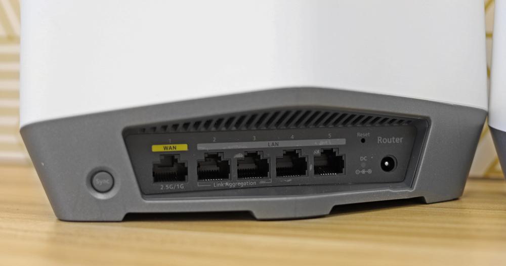 Orbi Pro WiFi 6 ports