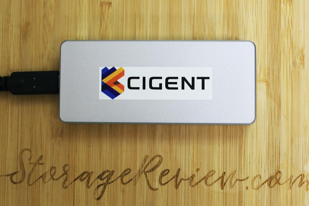Cigent K2 Secure SSD Front
