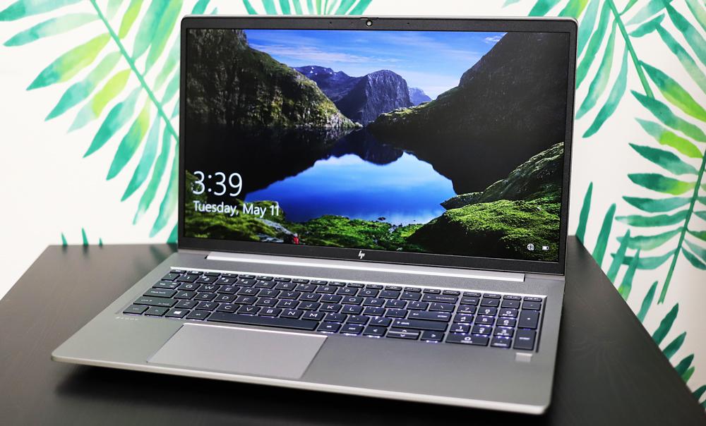 HP ZBook Power G8 screen