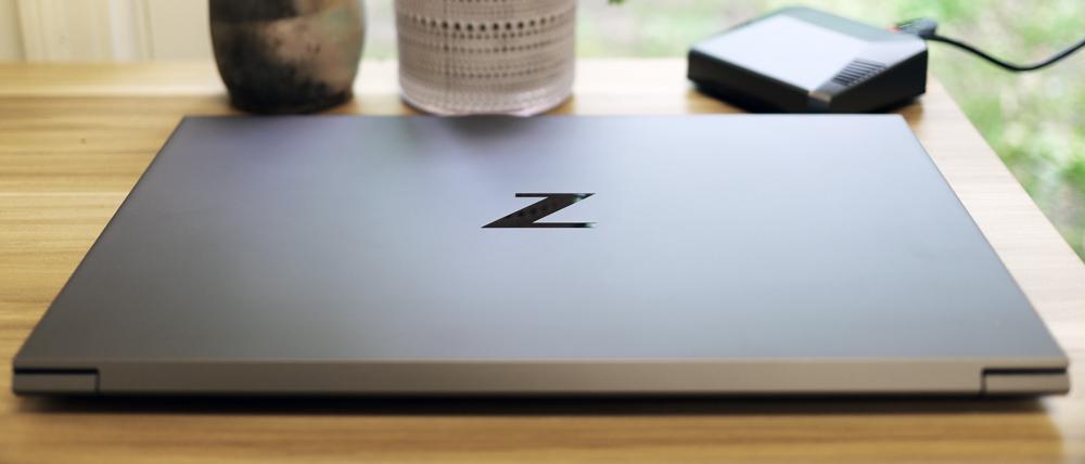 HP ZBook Studio G8 Mobile Workstation top