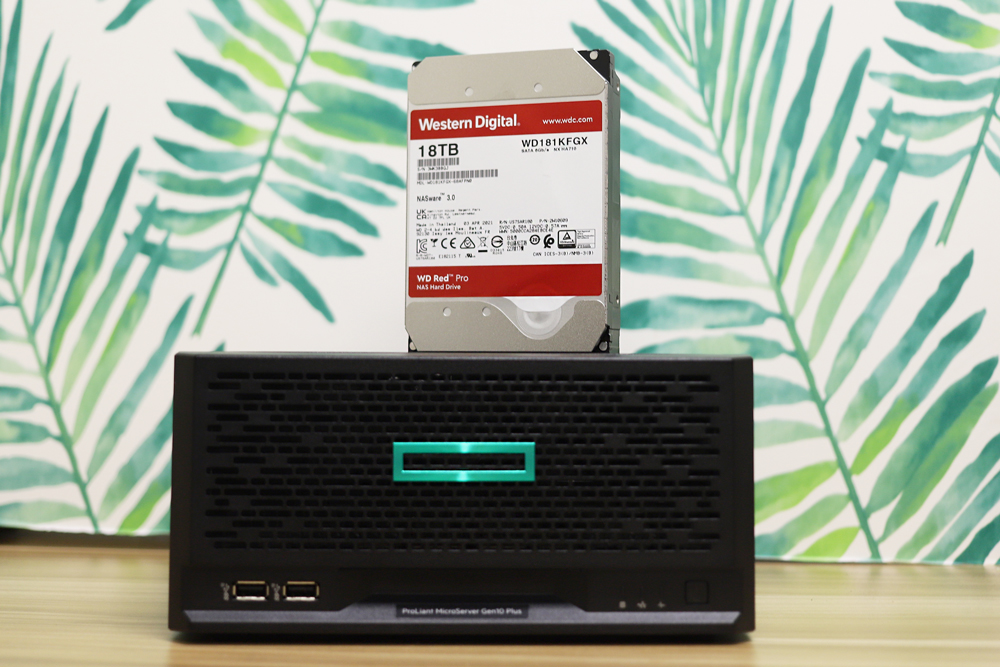 Kevin's NAS with a Western Digital Drive