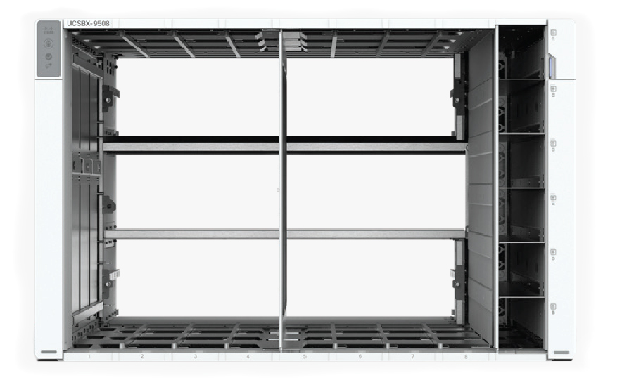 Cisco UCS X chassis