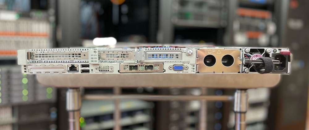 HPE ProLIant DL365 Gen10 Plus rear