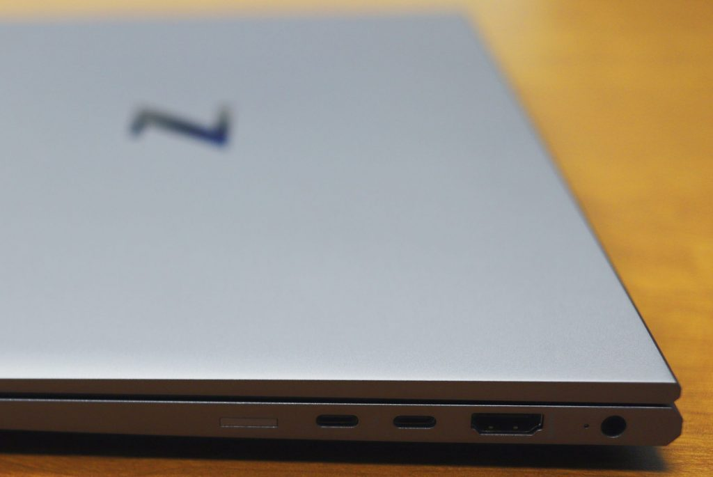 hp zbook firefly g8 right ports