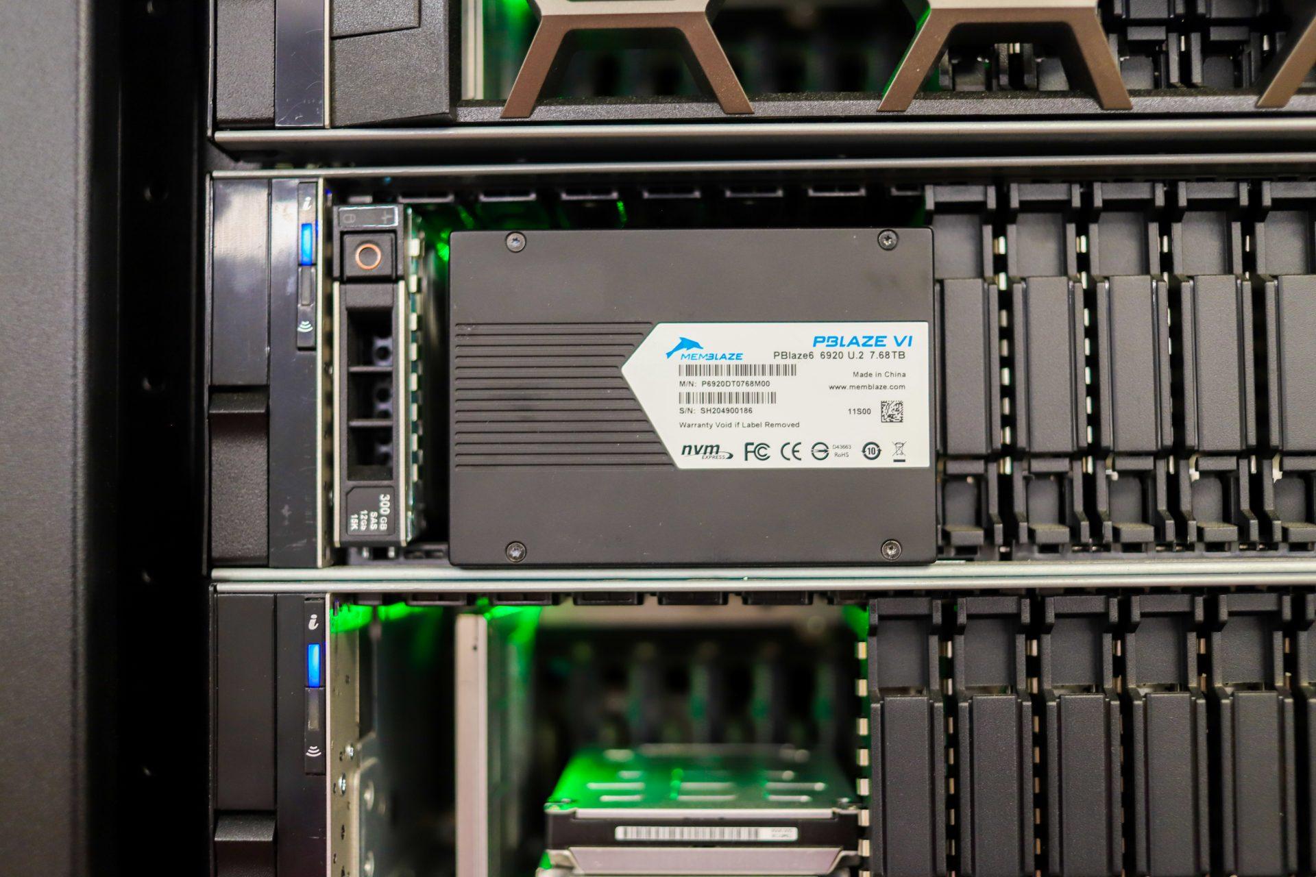 Memblaze PBlaze6 6920 server