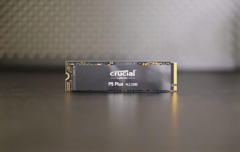 Crucial P5 Plus front