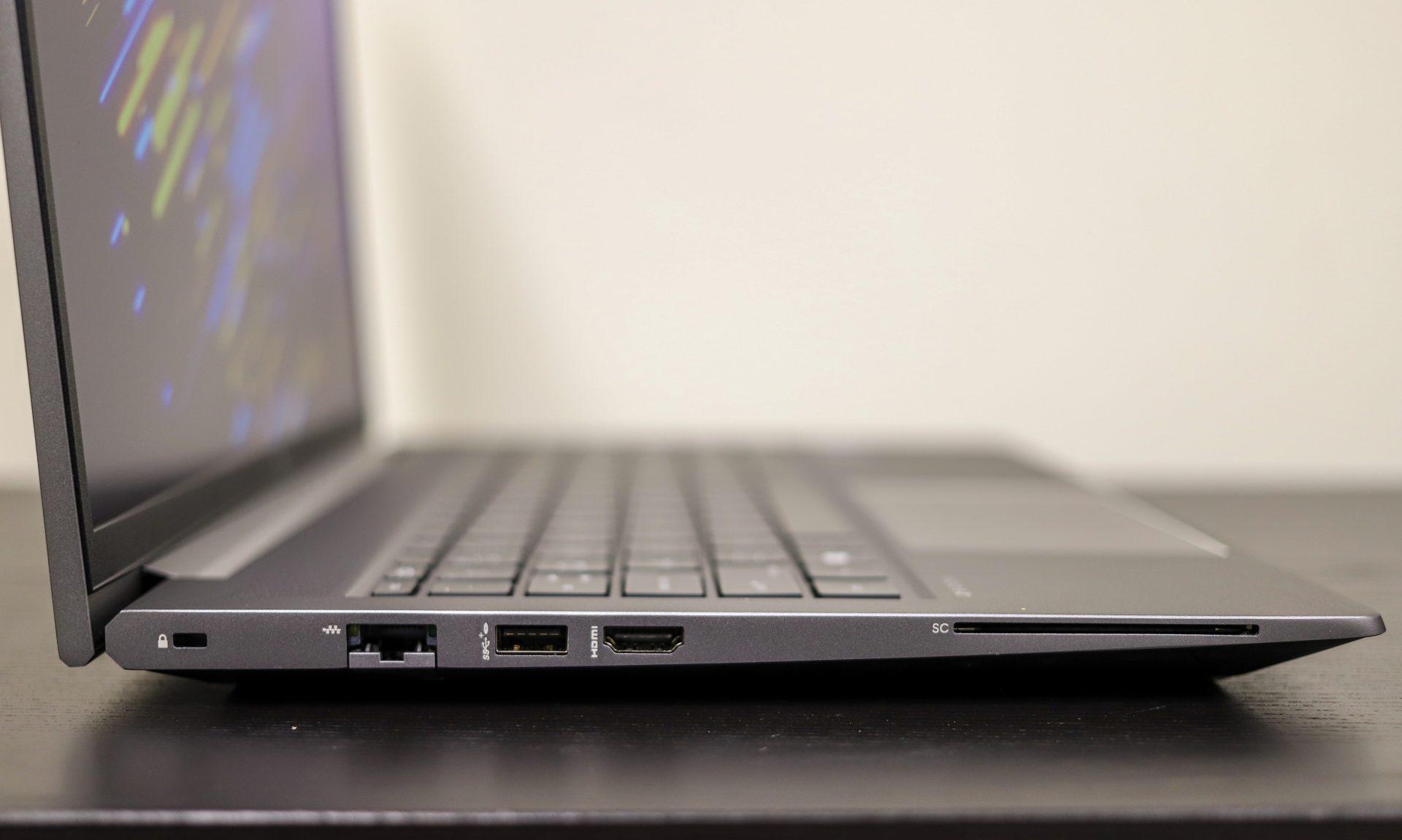 HP ZBook Power G8 ports